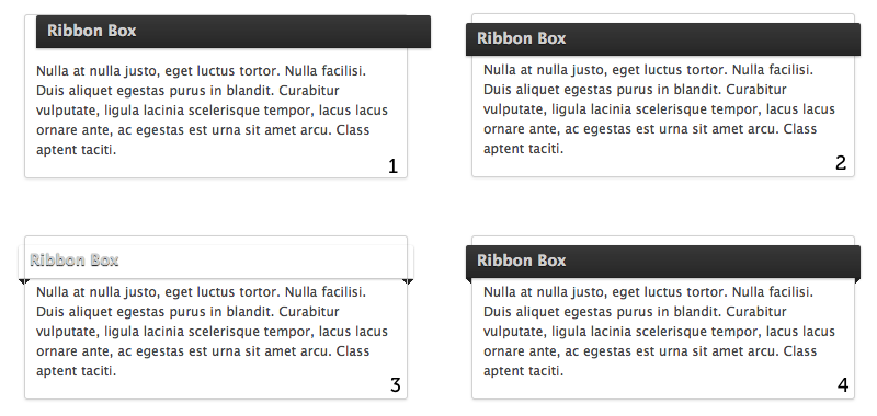 The making of the CSS ribbon